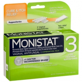 Monistat 3 Combination Pack Disposable Applicators