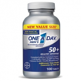One A Day Men's 50+ Multivitamin Tablets - 100ct