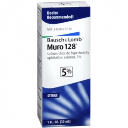 Muro 128 Ophthalmic Drops 5% Vial w/dropper - 30ml