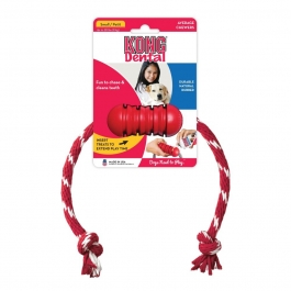 Kong Dental with Rope, Small- 1ct