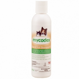 Mycodex 3X Pyrethrins Pet Shampoo-6oz Bottle
