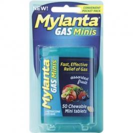 Mylanta Mini-Tabs Antacid Assorted Fruit - 50ct