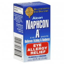 Naphcon-A Eye Drops 15ml - Backorder from manufacturer, ETA 03/09/2018