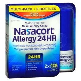 Nasacort Allergy 24 Hour Spray- 2pk