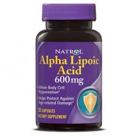 Natrol Alpha Lipoic Acid 600 mg 30 Capsules
