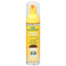 Neosporin Wound Cleanser Foam for Kids- 2.3oz