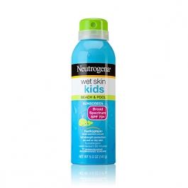 Neutrogena Sun Wet Skin Kids Sunscreen Spray Broad Spectrum SPF 70 - 5oz
