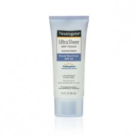 Neutrogena Ultra Sheer Dry-Touch Sunscreen SPF 45 -  3oz