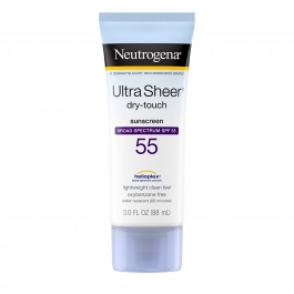 Neutrogena Ultra Sheer Dry-Touch Sunscreen, SPF 55- 3oz