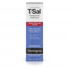Neutrogena T/Sal Therapeutic Shampoo, Scalp Build-Up Control- 4.5oz