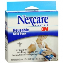"3M Nexcare Reusable Cold Pack 4""x 10"" - 1ct"