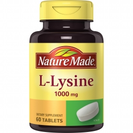 Nature Made L-Lysine 1000 mg Tablets 60ct