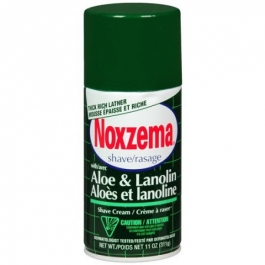Noxzema Shave Cream Aloe And Lanolin 11oz ***DISCONTINUED, ONLY 4 AVAILABLE***