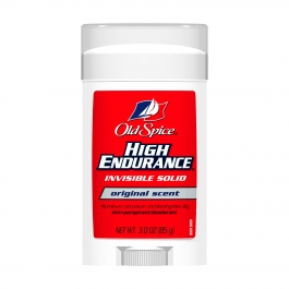Old Spice High Endurance Anti-Perspirant/Deodorant Invisible Solid Original Scent 3oz