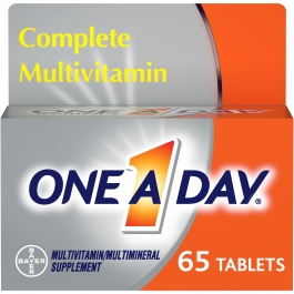 One A Day® Women's 50+ Health Advantage Multivitamin / Multimineral Supplement Tablets - 65ct