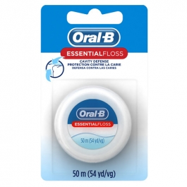 Oral- B Essential Floss, Waxed- 55yd
