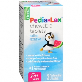 Fleet Pedia-Lax Chewable Tablets Watermelon Flavor 30ct