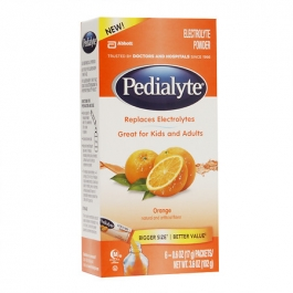 Pedialyte Powder Pack Orange 6ct