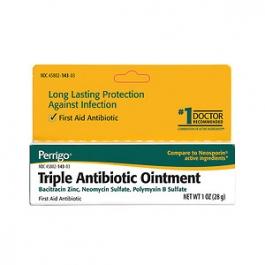 Triple Antibiotic Ointment (Perrigo)- 0.5oz