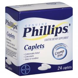 Phillips Cramp-free Laxative Caplets - 24ct