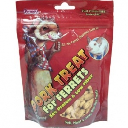 Brown's Pork Treats for Ferrets- 4oz ** Extended Lead Time **