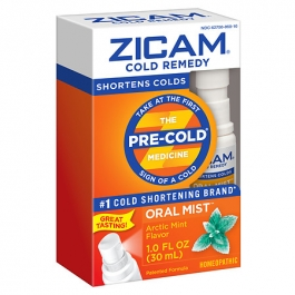 Zicam Cold Remedy Plus Oral Mist, Arctic Mint- 1oz