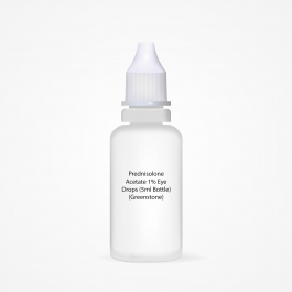Prednisolone Acetate 1% Eye Drops (5ml Bottle) (Greenstone)