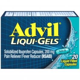 Advil Liqui-gel Pain Reliever & Fever Reducer - 20ct