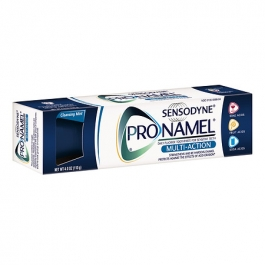 Sensodyne ProNamel Multi-Action Toothpaste for Sensitive Teeth, Cleansing Mint- 4oz