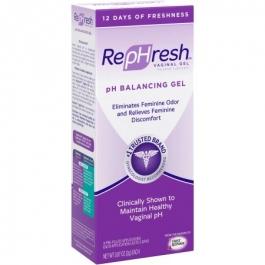 RepHresh Personal Lubricant Gel- 4ct