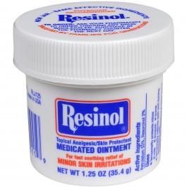 Resinol Medicated Ointment Jar for Skin Irritations - 1.25 oz