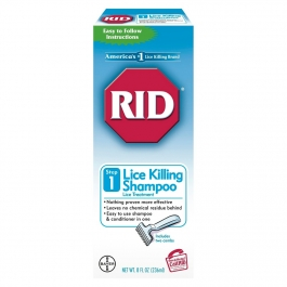 RID Step 1 Lice Killing Shampoo - 8.0 fl oz