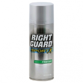 Right Guard Sport Aerosol Anti-Perspirant/Deodorant,  Fresh Scent-10 oz