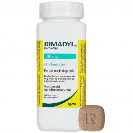 Rimadyl 100mg Chewable Tablets