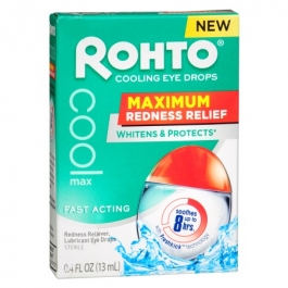 Rohto Cooling Eye Drops- .4oz