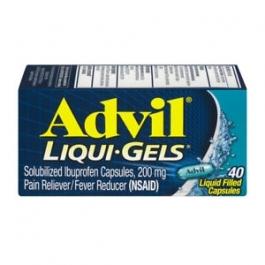 Advil Liqui-gel Pain Reliever & Fever Reducer - 40ct