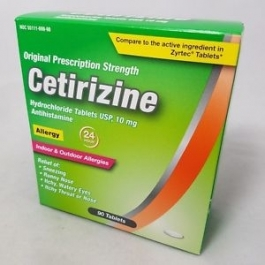Dr. Reddy's Cetirizine HCL 10mg Tablets, 90ct