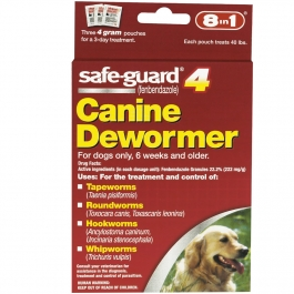 Safeguard Canine 22.2%- 3- 4g Doses