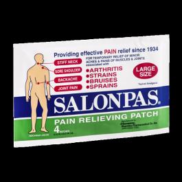 Salonpas Pain Relieving Patch Large 4/Pk