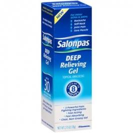 Salonpas Deep Pain Relieving Gel 2.75oz