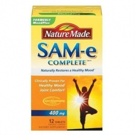 Nature Made SAM-e Complete 400mg Tablets - 12ct
