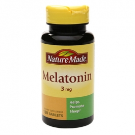 Nature Made Melatonin, 3mg, Tablets - 120ct