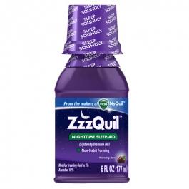 ZzzQuil Nighttime Sleep-Aid Liquid - 6.0 fl oz