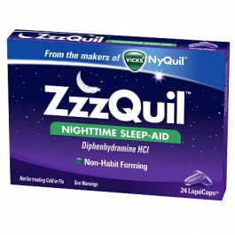 ZzzQuil Nighttime Sleep-Aid LiquiCaps - 24ct