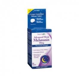 Natrol Advanced Sleep Melatonin 10 mg Dietary Supplement Tablets - 60ct