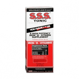 S.S.S. Tonic Iron/B-Vitamin Supplement Liquid - 20oz