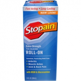 Stopain Pain Relieving Liquid Roll-On - 3.0 fl oz