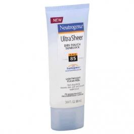 Neutrogena Ultra Sheer Dry-Touch Sunscreen SPF 85 - 3.0 oz
