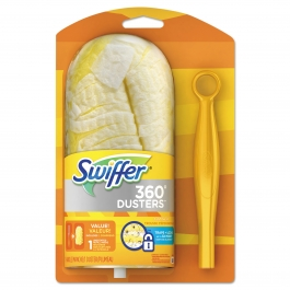 Swiffer 360 Duster, Short Handle Starter Kit- 1ct