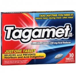 Tagamet HB Acid Reducer Tablets, 200mg- 30ct